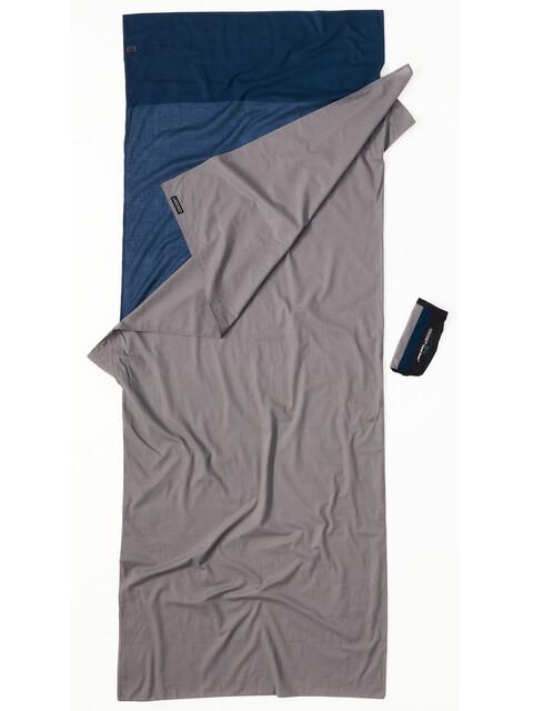 Cocoon TravelSheet - Drap de sac de couchage - Cotton gris